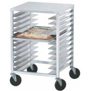 Advance Tabco PZ12-X Half Size Pizza Pan Rack with Solid Aluminum