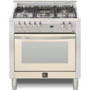"""Lofra CISS36M0-G500 Curva 36"""" Dual Fuel Freestanding Range with Traditional Baking  Dehydration  Defrosting  True European Convection  Rapid Cooking"""