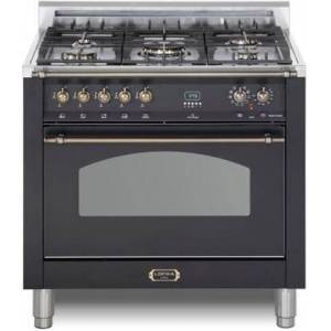 """Lofra RKBS36M0-G500 Dolcevita 36"""" Dual Fuel Freestanding Range with Traditional Baking  Dehydration  Defrosting  True European Convection  Rapid Cooking"""