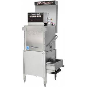 """CMA Dishmachines CMA-180-VL TALL 26"""" Energy Mizer Energy Star Commercial 3-Door High Temperature Dishwasher with 40 Racks/Hour Operation Capacity  12kw Booster Heater"""