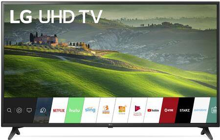 """LG 43UM6910PUA 43"""" LG TV with Smart LED  4K TV Image  2.0 Channel Speaker System  Smart Phone Connectivity  Wi-Fi Standard and Remote Control Include"""