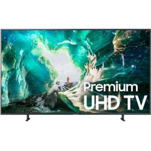 """Samsung UN82RU8000FXZA 82"""" RU8000 Smart 4K UHD TV with HDR  Dynamic Crystal Color  FreeSync and Works with Amazon Alexa and Google Assistant Smart"""