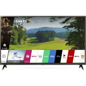 """LG 55UK6300PUE 55"""" 4K HDR Smart LED UHD TV with Al ThinQ  Quad Core Processor  4K Active HDR  Slim Unibody  Ultra Surround  in"""