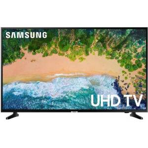 """Samsung UN55NU6900BXZA 55"""" Smart 4K UHD TV with PurColor  Motion Rate 120 and Slim Design in Glossy"""