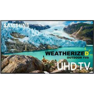 """Weatherized TVs 55S7WT 55"""" Weatherized Samsung Outdoor Smart 4K TV with 4K UHD Processor  HDR  Dolby Sound and HDMI in"""