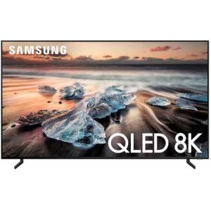 """Samsung QN85Q900RAFXZA 85"""" Q900 QLED Smart 8K UHD TV with Real 8K Resolution  Bixby Voice and Motion Rate"""