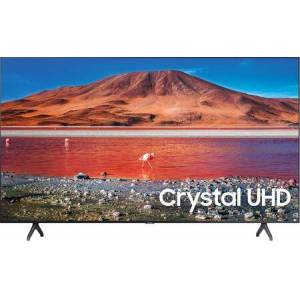 """UN58TU7000FXZA 58"""" TU7000 Crystal UHD 4K Smart TV with Crystal Processor 4K  Boundless Design and HDR in"""
