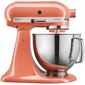 KitchenAid KSM150PSPH Artisan Tilt-Head Stand Mixer 5 Quarts Stainless Steel  Bowl  10 Speeds  Pouring Shield  Coated Cough Hook  Flat Beater  in Bird of