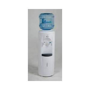 Avanti WD360 Cold and Room Temp. Water Dispenser with Lightweight Durable Plastic Body  Push Button Faucets  LED Light Indicators  Large Stainless Steel