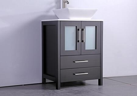 "MTD Jordan Collection MTD-1130E 30"" Single Sink Bathroom Vanity Set in"