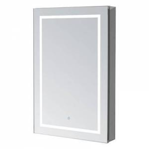 """Aquadom RP-2430R Royale Plus 24"""" x 30"""" Mirror Cabinet with Touch Control LED Lights  Electrical Outlet  Blum Hinges and 5mm Copper Free Mirror Glass: Right"""