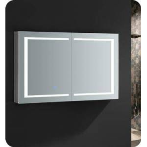 """Fresca FMC024830 Spazio 48"""" Wide x 30"""" Tall Bathroom Medicine Cabinet with LED Lighting and Defogger  in"""