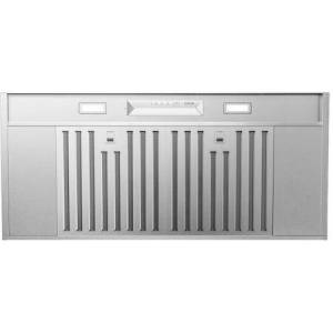"""Zephyr AK9540AS 42"""" Core Collection Monsoon Mini II Insert with 600 CFM  LED Lighting  Hybrid Baffle Filters and Airflow Control Technology  in Stainless"""