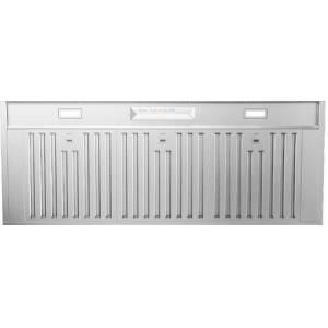 """Zephyr AK9546AS 48"""" Core Collection Monsoon Mini II Insert with 600 CFM  LED Lighting  Hybrid Baffle Filters and Airflow Control Technology  in Stainless"""
