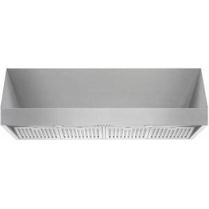 """Forza FH4818 48"""" Pro-Style Wall Mount Range Hood with 1200 CFM  18"""" Height  4 Speeds  Double Internal Blowers  LED Lighting  Square Push Buttons  4x Baffle"""