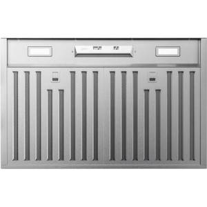 """Zephyr AK9128BS 30"""" Core Series Monsoon Mini Cabinet Liner with 300 CFM  LED Lighting  Hybrid Baffle Filters and 3 Speed Mechanical Slide Controls  in"""