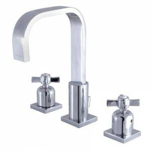Kingston FSC8961ZX Fauceture 8 in. Widespread Bathroom Faucet  Polished