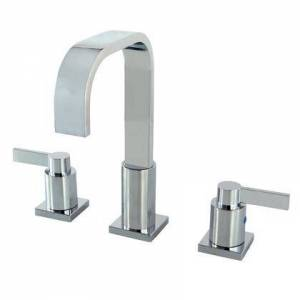 Kingston FSC8961NDL Fauceture NuvoFusion Widespread Bathroom Faucet  Polished
