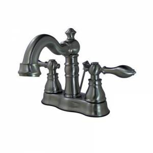 Kingston FSC1608ACL Fauceture 4 in. Centerset Bathroom Faucet  Brushed