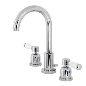 Kingston FSC8921DPL Fauceture Paris Widespread Bathroom Faucet  Polished