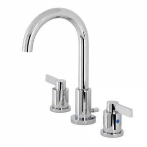 Kingston FSC8921NDL Fauceture NuvoFusion Widespread Bathroom Faucet  Polished