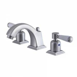 Kingston FSC4688DPL Fauceture 8 in. Widespread Bathroom Faucet  Brushed