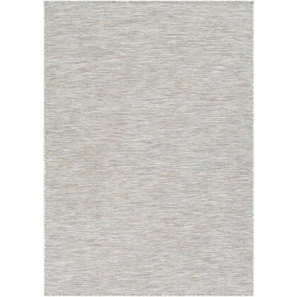"""Surya Pasadena PSA-2303 7'10"""" x 10'2"""" Rectangle Modern Rug in Camel  Sage  Dark Blue  White  Light"""