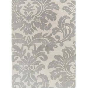 Surya Athena Collection ATH5073-1014 Rectangle 10' x 14' Area Rug with Hand Tufting and Wool Material in Grey and Neutral
