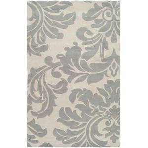 Surya Athena Collection ATH5073-1215 Rectangle 12' x 15' Area Rug  Hand Tufted with Wool Material in Grey and Neutral