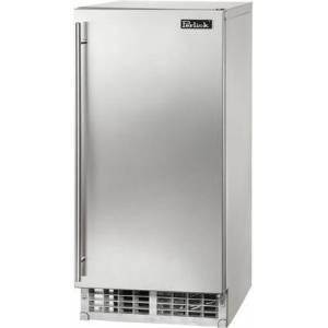 """Perlick H50IMW-AD 15"""" ADA Compliant Signature Series Clear Ice Maker with 55 lbs. Daily Ice Production  Top Hat Ice Cube Shape  22 lbs. Storage Capacity  and"""