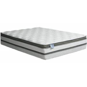 """Furniture of America Siddalee DM339EK-M 16"""" Euro Pillow Top Mattress - Eastern King with Quilting: Designer Organic Cotton Fabric 5 Layer tack and jump quilting HD"""