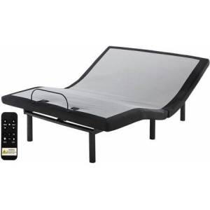 Ashley Sleep Head-Foot Model Better M9X842 King Adjustable Base with 2 Memory Programmable Positions  Undercarriage Lighting and 2 USB Power Ports in