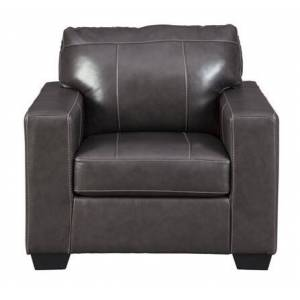 """Ashley Morelos Collection 3450320 38"""" Chair with Corner-Blocked Frame  Attached Back and Loose Seat Cushions in"""