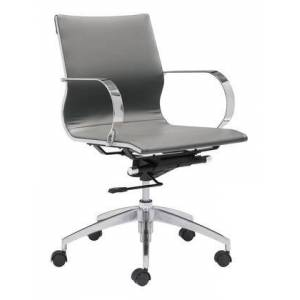 Zuo 100835 Glider Low Back Office Chair