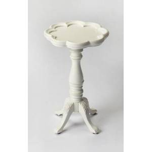 Butler Whitman Collection 0923222 Scatter Table with Traditional Style  Round Shape  Medium Density Fiberboard (MDF) and Cherry Veneer Material in Cottage