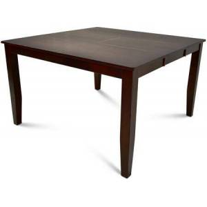 """Steve Silver Victoria Collection VC900PT 54"""" Counter Table with 18"""" Butterfly Leaf and Tongue and Groove Joints  Corner Block Construction and Casual Style Design"""