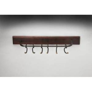 Butler Glendo Collection 3366016 Wall Rack with Transitional Style  Rectangular Shape and Mango Wood Solids in Hors D'oeuvres