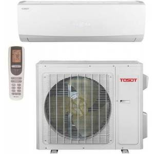 Tosot TW12HQ2C2A Energy Star Single Zone Mini Split System with 14 600 BTU Cooling Capacity  12 200 BTU Heating Capacity  115 Volts  Turbo Function  Remote