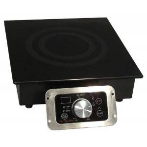 """Sunpentown SR-343R 13"""" Smoothtop Built-in Commercial Induction Range With 3 400 Watt Cooking Zone  20 Power Levels  SmartScan Technology  Touch Pad/Knob"""