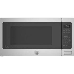"""GE Profile PES7227SLSS 25"""" Countertop Sensor Microwave Oven with 2.2 cu. ft. Capacity  1100 Cooking Watts  Weight and Time Defrost  Instant On Control  Control"""