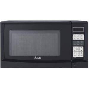 """Avanti MT9K1B 19"""" Countertop Microwave with 0.9 cu. ft. Capacity  900 Watts Cooking Power and Touch Controls in"""