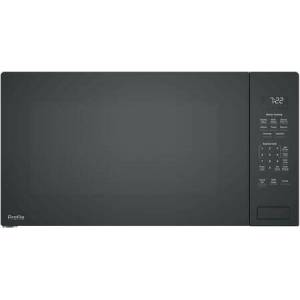 """GE Profile PEB7227DLBB 25"""" Built In Sensor Microwave Oven with 2.2 cu. ft. Capacity  Weight and Time Defrost  Extra-Large 16"""" Turntable  and Control Lockout  in"""