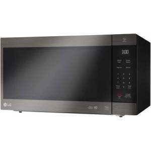 LG LMC2075BD NeoChef Countertop Microwave Oven 2 cu. ft. Oven Capacity  Smart Inverter  EasyClean Interior  SmoothTouch Glass Touch  Hexagonal Stable