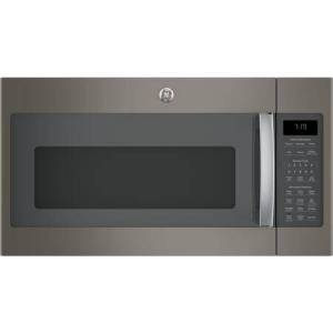 """GE JVM7195EKES 30"""" Over-the-Range Microwave Oven with 1.9 cu. ft. Capacity  Four-speed 400-CFM Venting fan system  Sensor cooking controls  Weight and"""