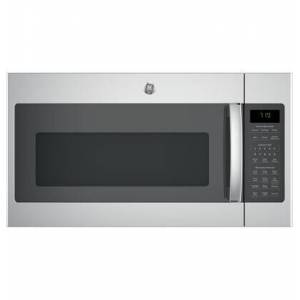 """GE JVM7195SKSS 30"""" Over-the-Range Microwave Oven with 1.9 cu. ft. Capacity  Four-speed 400-CFM Venting fan system  Sensor cooking controls  Weight and"""