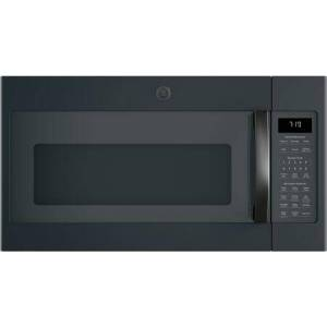"""GE JVM7195FLDS 30"""" Over-the-Range Microwave Oven with 1.9 cu. ft. Capacity  Four-speed 400-CFM Venting fan system  Sensor cooking controls  Weight and"""