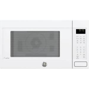 """GE Profile PEB9159DJWW  22"""" Countertop Convection/Microwave Oven with 1.5 cu. ft. Capacity  Sensor cooking controls  Convection rack and Warming option in"""