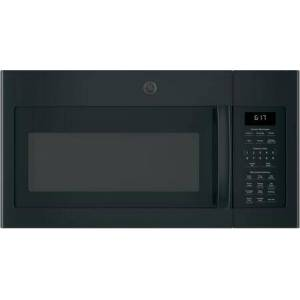 """GE JVM6175DKBB 30"""" Over-the-Range Microwave Oven with 1.7 cu. ft. Capacity  Two-speed 300-CFM Venting fan system  Sensor cooking controls  Weight and"""