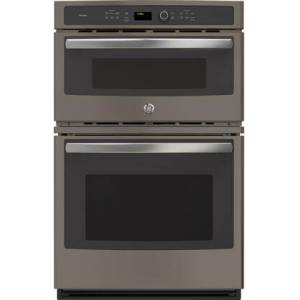 """GE Profile PK7800EKES 27"""" Built-in Combination Double Wall Oven/Microwave with 4.3 cu. ft. Oven Capacity  1.7 cu. ft. Microwave Capacity  Steam Self-clean"""