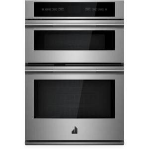 """Jenn-Air JMW2430IL 30"""" RISE Built-In Microwave Wall Oven Combo with 6.4 cu. ft. Total Capacity  Convection Cooking  Sensor Cooking and Cinematic Lighting in"""